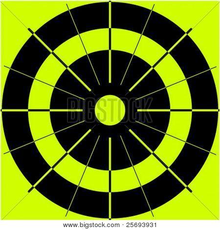 Vector target board