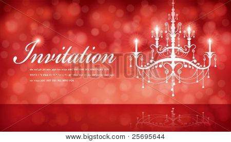 Luxury Chandelier background 06