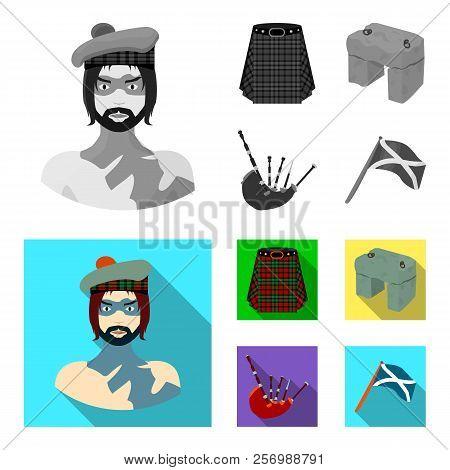 Highlander, Scottish Viking, Tartan, Kilt, Scottish Skirt, Scone Stone, National Musical Instrument