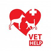 Sign - Veterinary Relief Services poster