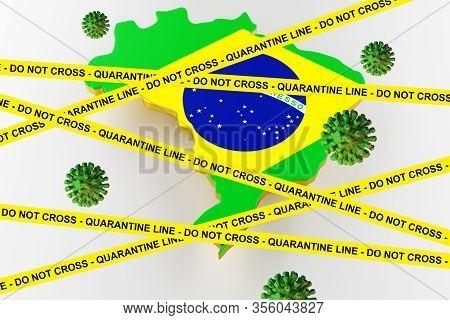 Coronavirus, Covid-19 Confirmado No Brasil Coronavirus, Covid-19, Confirmed In Brazil In Portuguese
