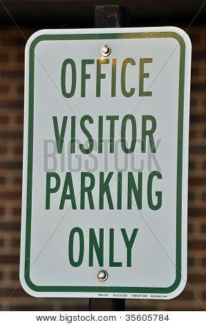 Office visitor Parking