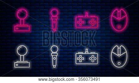 Set Line Joystick For Arcade Machine, Gamepad, Joystick For Arcade Machine And Computer Mouse Gaming