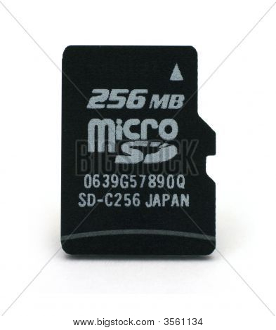 Flash-Card Of Microsd Form-Factor