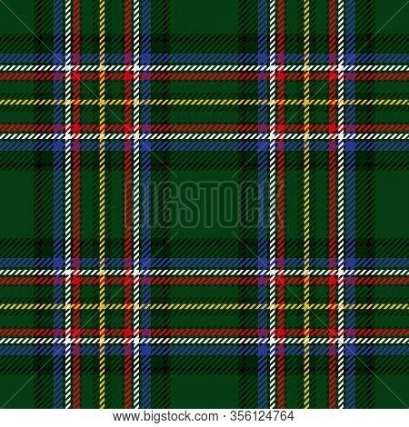 Vector Tartan Background For St Patricks Day