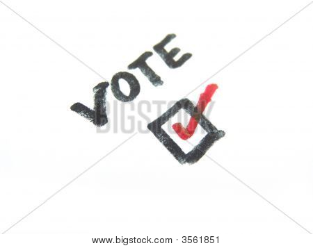 Vote Check Mark