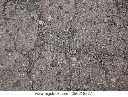 Cracked Ground Asphalt Background Texture , Road Asphalt Cracks