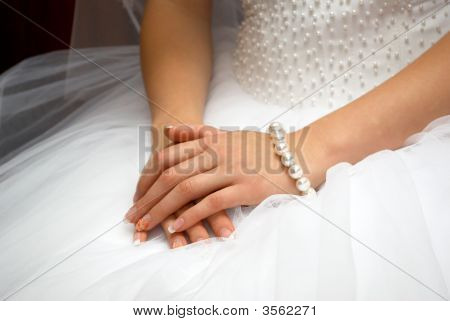 Hands Of Fiancee