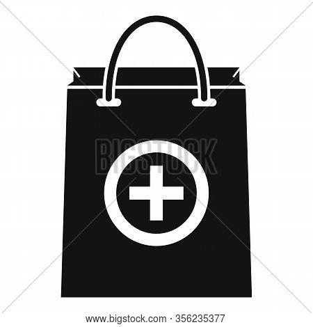 Pharmacist Pill Bag Icon. Simple Illustration Of Pharmacist Pill Bag Vector Icon For Web Design Isol