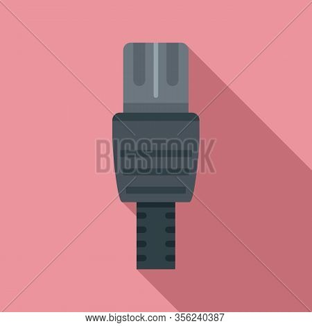 Lan Cable Icon. Flat Illustration Of Lan Cable Vector Icon For Web Design