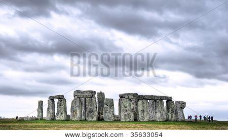 Overcast Stonehenge