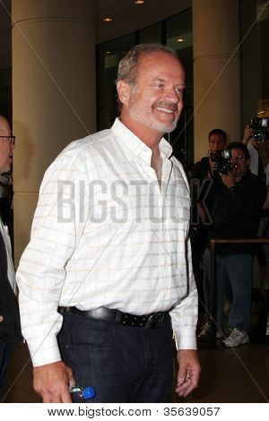 LOS ANGELES - AUG 2:  Kelsey Grammer arrives at the Cable TCA Press Tour at Beverly Hilton Hotel on August 2, 2012 in Beverly Hills, CA