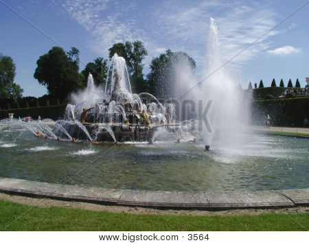 Versaille's Castle Fountains