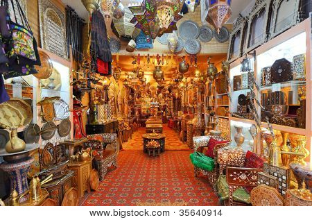 Objects for sale in a Jersualem Market