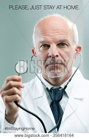 Doctor Suggesting You Stay Home