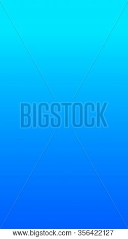 Blue Social Media Duotone Gradient Background. Social Network Stories Soft Colorful Theme. Turquoise