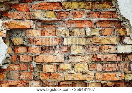 Wall, Brick, Old, Texture, Red, Pattern, Cement, Architecture, Building, Bricks, Stone, Brickwall, B