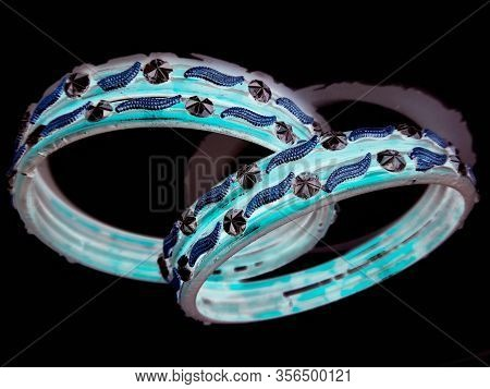 A Picture Of Bangles With White Background