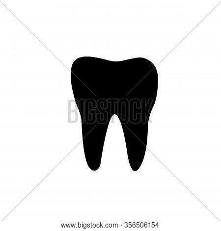 Logotype Concept. Parodontosis Tooth Icon. Gingivitis Sign. Inflammation Of Gums Symbol. Logo Design