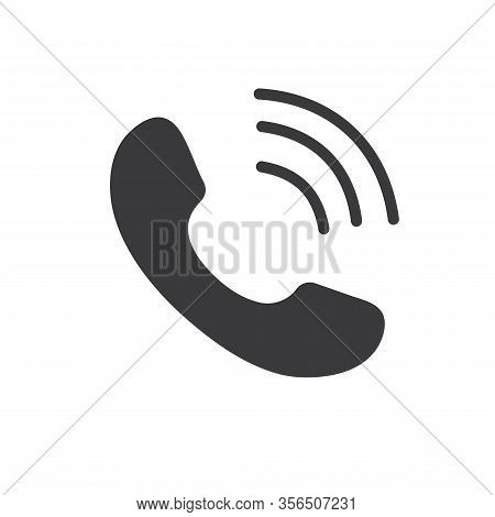 Cell Phone Vector Icon. Telephone Call Icon. Ringing Phone Icon. Modern Icon Cell Phone. Cell Phone