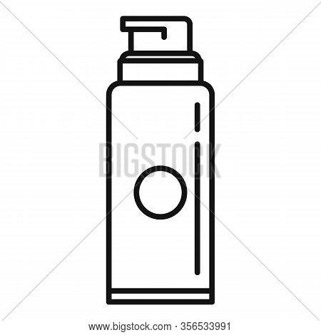 Barber Shaving Foam Icon. Outline Barber Shaving Foam Vector Icon For Web Design Isolated On White B