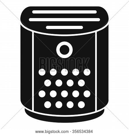 Climate Air Purifier Icon. Simple Illustration Of Climate Air Purifier Vector Icon For Web Design Is