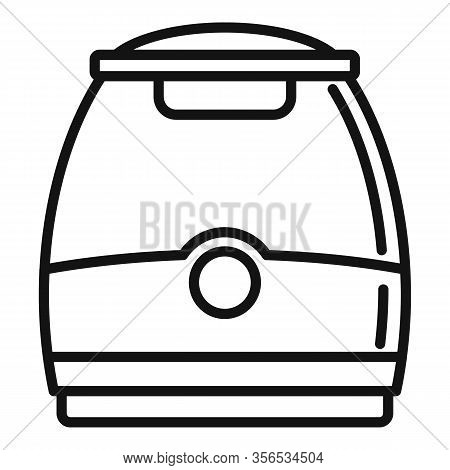 Air Purifier Appliance Icon. Outline Air Purifier Appliance Vector Icon For Web Design Isolated On W
