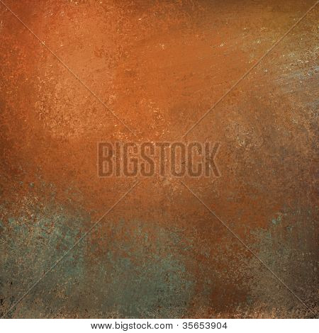 Orange Background with Gray