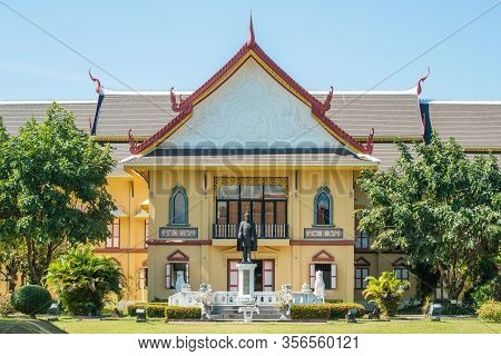 Nan Province, Thailand : January-17-2017 :  Scenery View Of Nan National Museum In Nan Province Of T