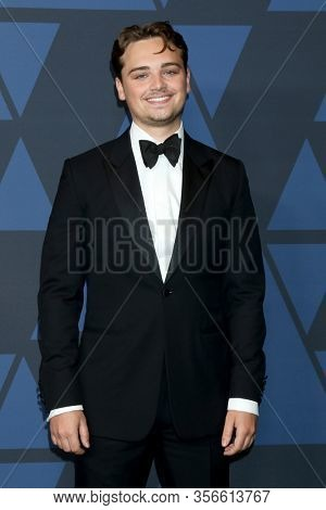 LOS ANGELES - OCT 27:  Dean-Charles Chapman at the Governors Awards at the Dolby Theater on October 27, 2019 in Los Angeles, CA