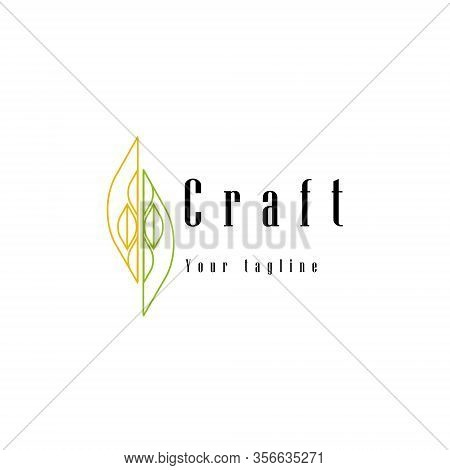 Logo Style Line Art Template For Product Craft Your Brand Theme Nature And Artsy