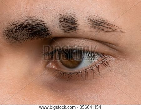 Shave Eyebrows, Fake Scars On The Eyebrow, Eyebrow Style