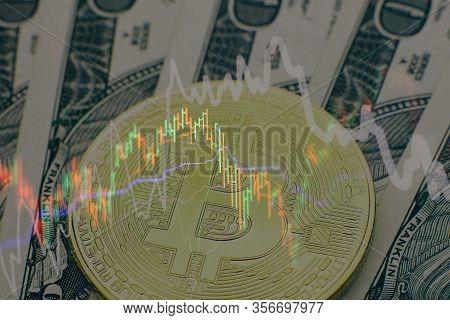 Technical Price Graph Image Photo