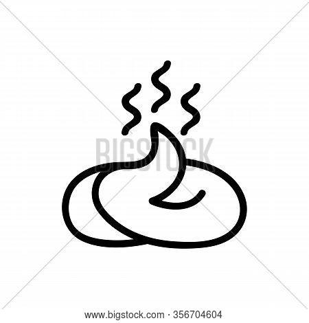 Stinking Shit Icon Vector. Stinking Shit Sign. Isolated Contour Symbol Illustration