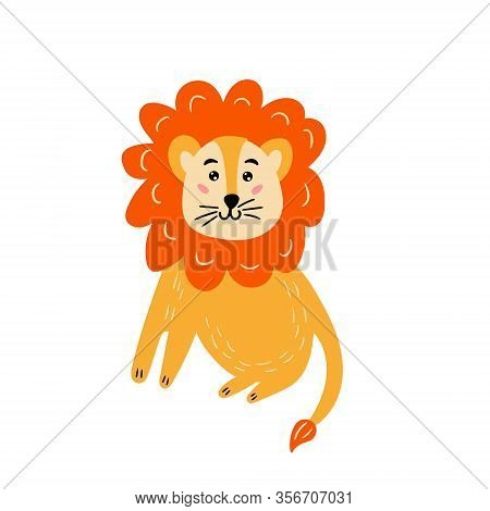 Cute Bright Lion