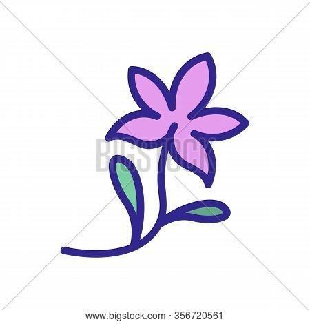 Plant Threat Icon Vector. Plant Threat Sign. Color Isolated Symbol Illustration