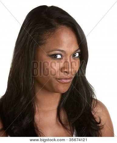 Cynical Black Woman