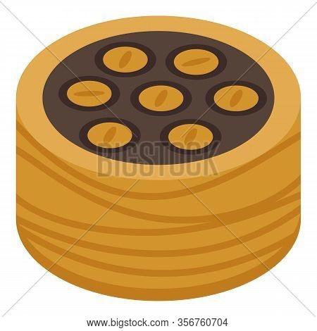 Tasty Baklava Icon. Isometric Of Tasty Baklava Vector Icon For Web Design Isolated On White Backgrou