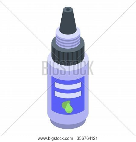 Soursop Dropper Icon. Isometric Of Soursop Dropper Vector Icon For Web Design Isolated On White Back