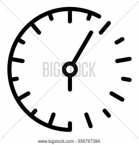 Analog Watch Repair Icon. Outline Analog Watch Repair Vector Icon For Web Design Isolated On White B