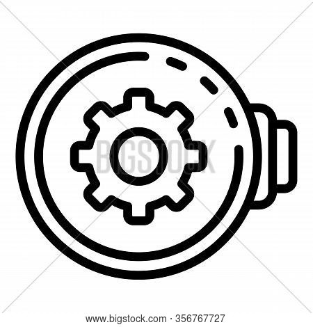 Watch Repair Controller Icon. Outline Watch Repair Controller Vector Icon For Web Design Isolated On