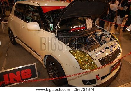 Pasay, Ph - Nov 27: Suzuki Swift At Manila Auto Salon On November 27, 2011 In Smx Convention Center,