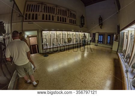 Venice, Italy - August 02, 2019: Interior Of Doge S Palace - Palazzo Ducale. Doge S Palace Is One Of