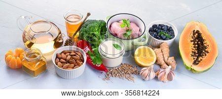 Immune Boosting Health Food Selection