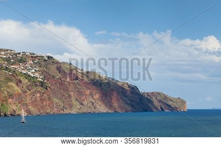Funchal Headland.  A View Of The Headland To The East Of Funchal, The Capital City Of The Portuguese
