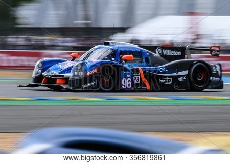 Le Mans / France - June 15-16 2019: 24 Hours Of Le Mans, Cool Racing Team, Ligier Jsp3 - Nissan, Roa
