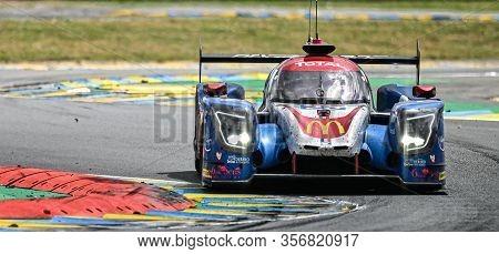 Le Mans / France - June 15-16 2019: 24 Hours Of Le Mans, Panis Barthez Competition Team, Ligier Js P