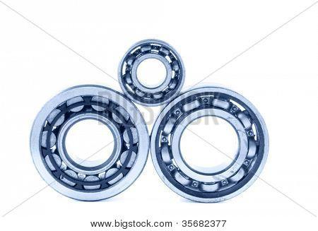 bearings. Isolation on white.