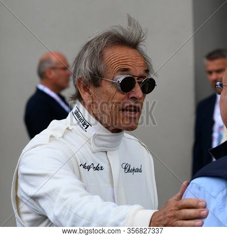 Le Mans / France - June 15-16 2019: 24 Hours Of Le Mans, Jacky Ickx Before Start Of Race 24 Hours Of