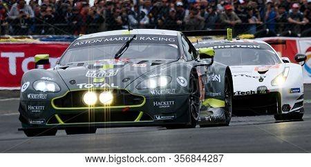 Le Mans / France - June 15-16 2019: 24 Hours Of Le Mans, Aston Martin Racing Team, Aston Martin Vant
